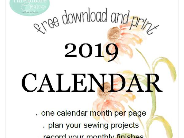 "{Free Printable} - Free 2019 Calendar <img src=""https://pic.sopili.net/pub/emoji/twitter/2/72x72/1f4c5.png"" width=20 height=20>"
