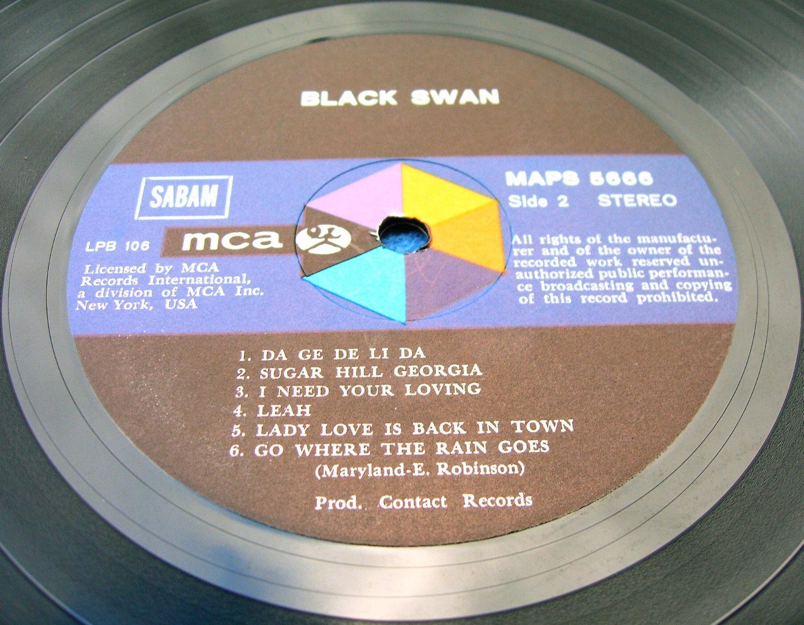 Black Swan - Echoes And Rainbows - Da Ga De Li Da etc etc.