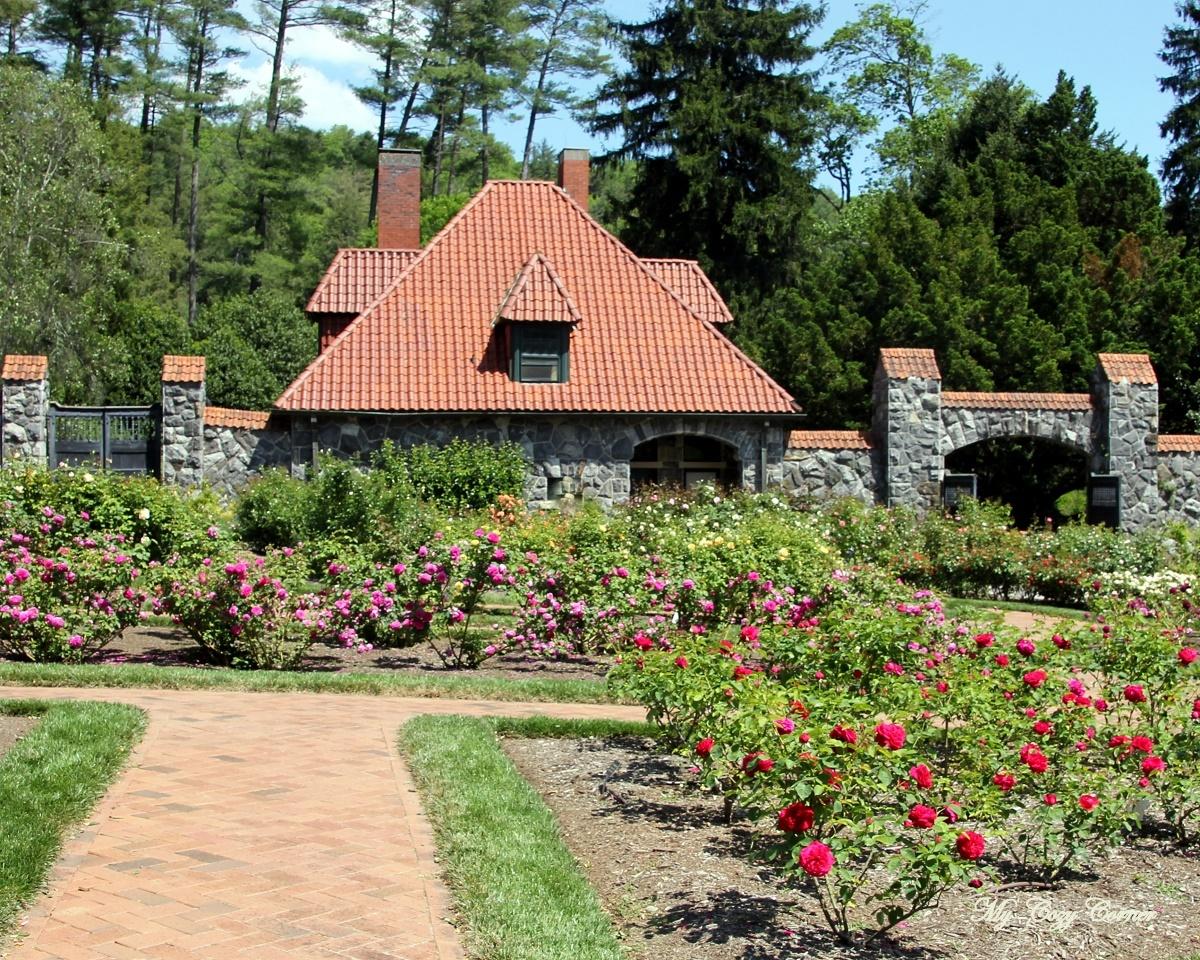 my cozy corner biltmore estate garden tour