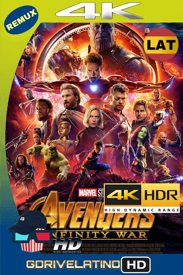 Avengers: Infinity War (2018) BDRemux 4K HDR Latino-Ingles MKV