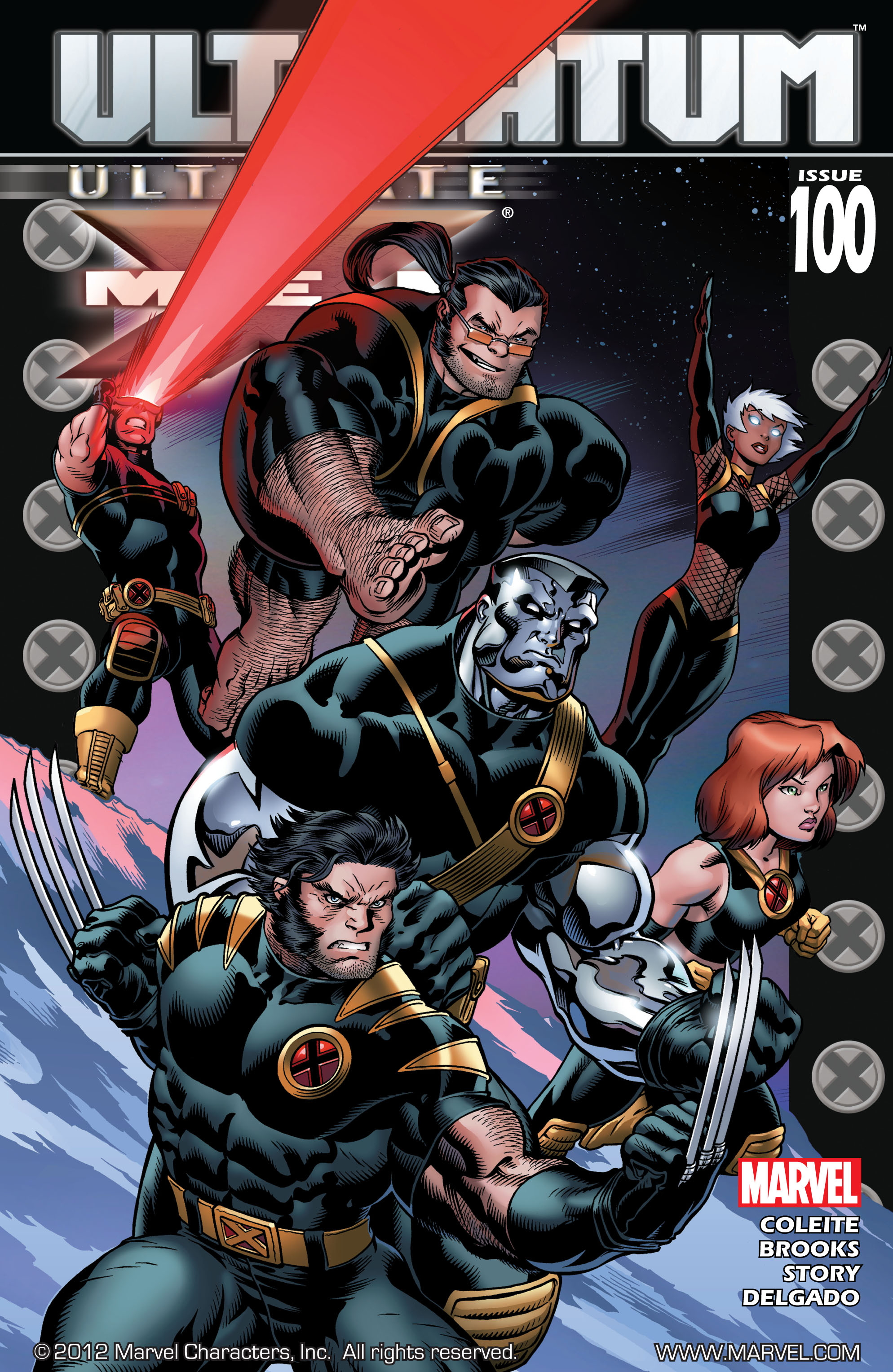 Read online Ultimate X-Men comic -  Issue #100 - 1