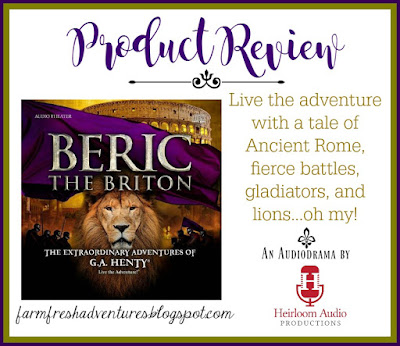 Beric the Briton from Heirloom Audio Productions {a review}