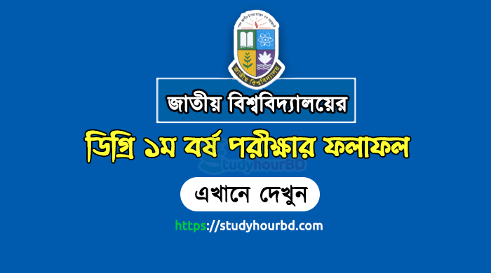 NU Degree 1st Year Result 2018