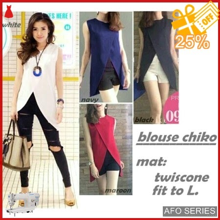 AFO295 Model Fashion Blouse Chiko Modis Murah BMGShop