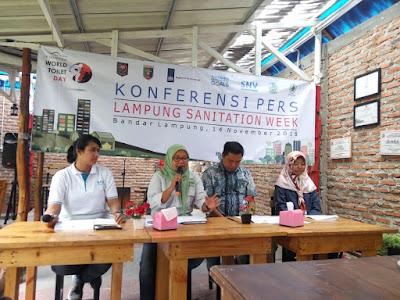 Peduli Sanitasi, YKWS dan Mitra Bentala Adakan Lampung Sanitation Week