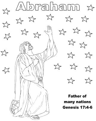 Bible Fun For Kids: Bible Pictures to Color