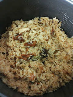 Resep Cara Membuat Nasi Bumbu Ayam di Magic Com