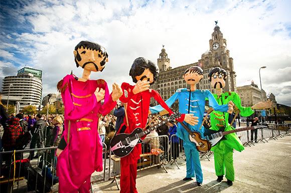 Record des fans des Beatles à Liverpool pour «Love Me Do»