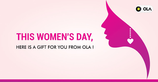 Women's Day Gift from Ola in Uttar Pradesh Cities