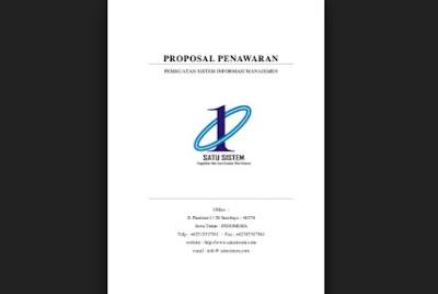 Contoh Proposal penawaran barang docx