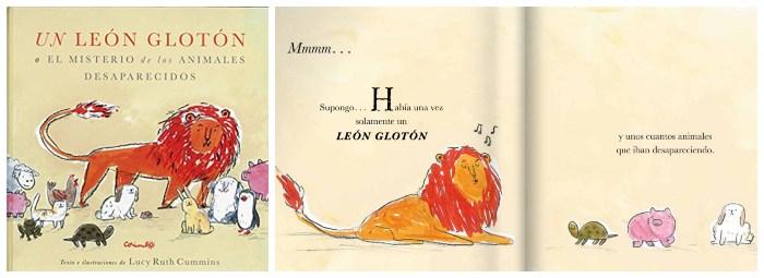 cuento infantil niños 3 a 5 años Un león glotón corimbo