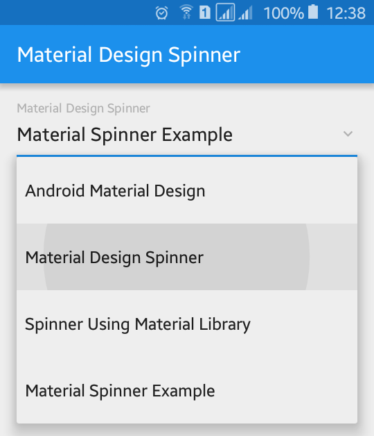 Spinner Text Color Change In Android