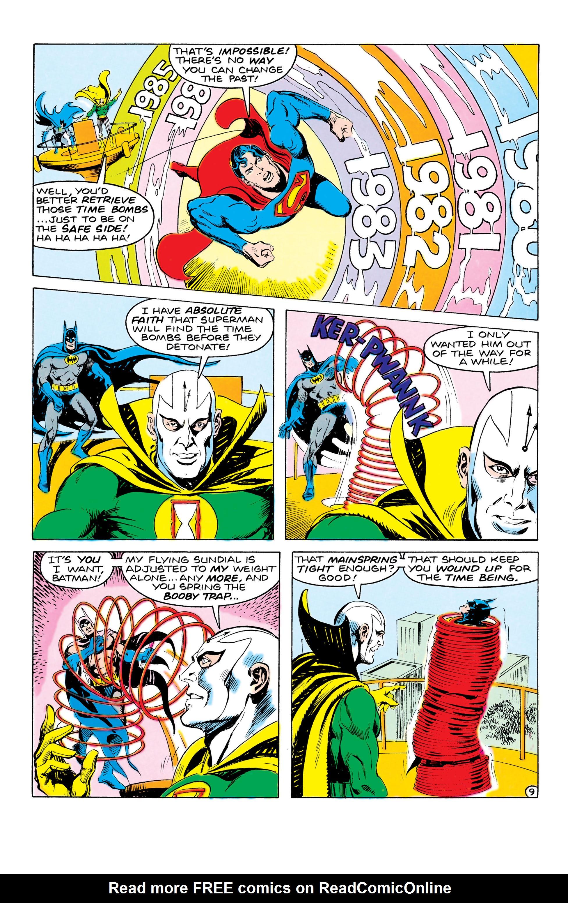 Read online World's Finest Comics comic -  Issue #321 - 9