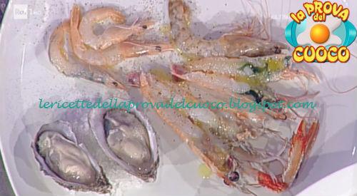 Prova del cuoco - Ingredienti e procedimento della ricetta Lezione di crudi di Gianfranco Pascucci