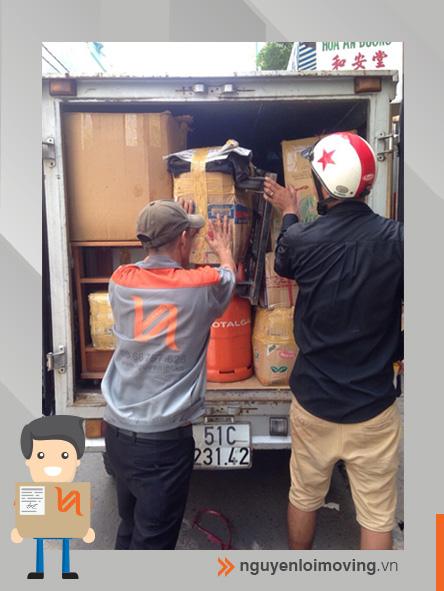 chuyển nhà bằng xe tải nhỏ 500kg