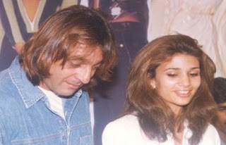 sanjay dutt with second wife