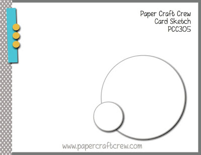 Paper Craft Crew Card Sketch #PCC305 using Stamping' Up! products from Mitosu Crafts UK