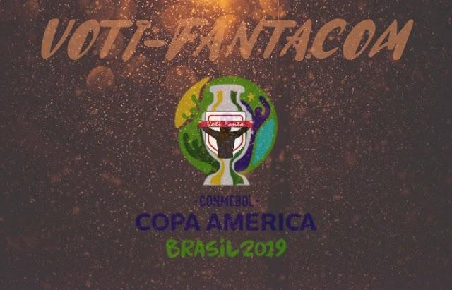COPA AMERICA 2019 I voti della seconda giornata