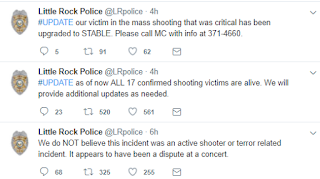 17 people shot at a nightclub in Arkansas