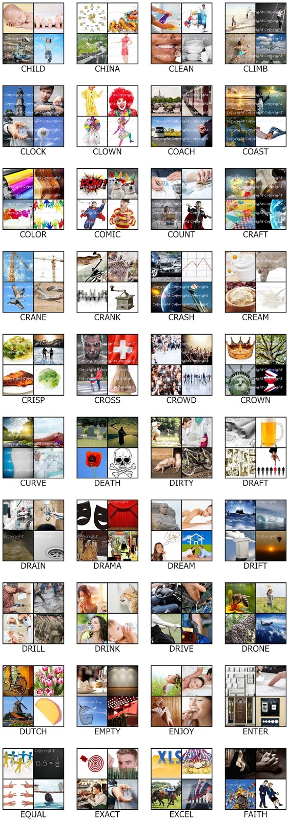 Answers to four pics one word 5 letters gallery letter format answers to four pics one word 5 letters images letter format cheats for four pics one expocarfo Images