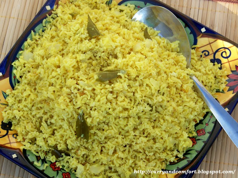 Kitchen Simmer Sri Lankan Fragrant Yellow Rice