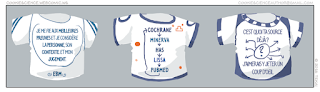 T-shirts Minerva, HAS, EBM, Cochrane, scepticisme, recherche