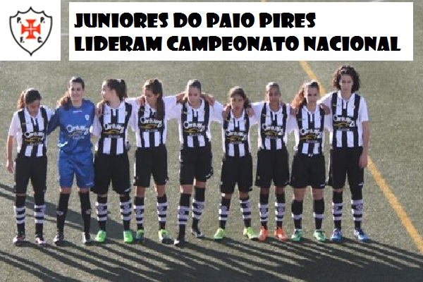 7cced13ab1 A equipa feminina de juniores do Paio Pires Futebol Clube que se encontra a  disputar o campeonato nacional da respectiva categoria recebeu e venceu o  ...