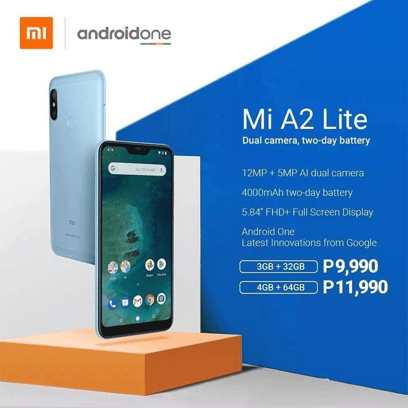 Xiaomi Mi A2 Lite and Mi A2 will be available in the Philippines this mid August