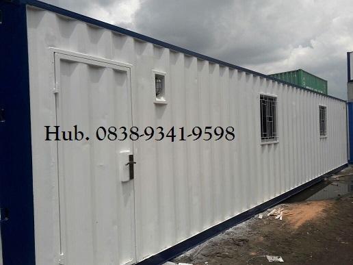 Container Office Adalah Solusi Kantor Sementara