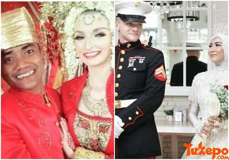 7 Kisah Cinta Viral dari Orang yang Beruntung Bisa Nikah dengan Bule Cakep