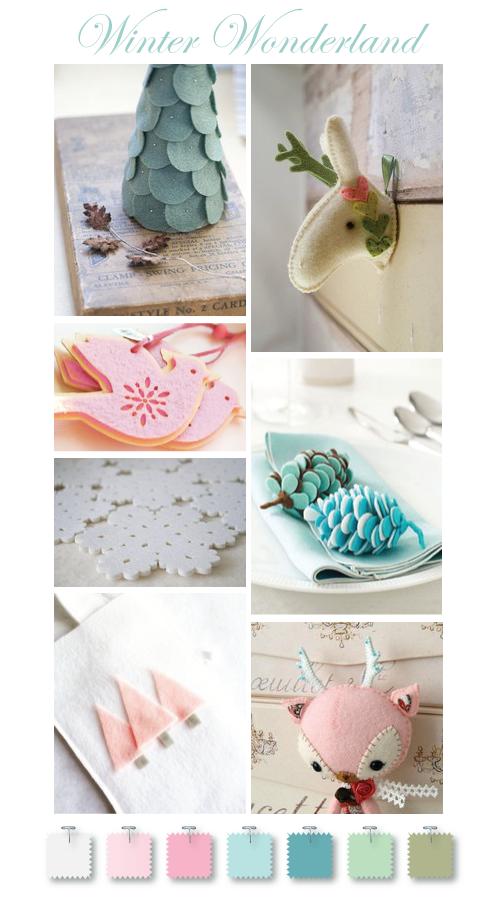 Winter Wonderland felt ideas by Torie Jayne