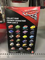 cars 3 mattel mini racers blind bags guide case C