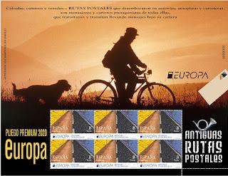 Antiguas Rutas Postales (Europa)