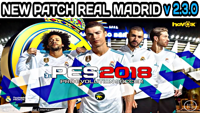 Download Patch Real Madrid Fans PES 2018 Mobile V2.3 (Android/IOS)