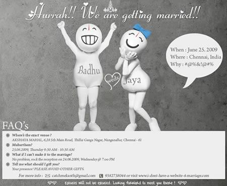 Top 10 Crazy Wedding Invitations Indian Bridal Diaries