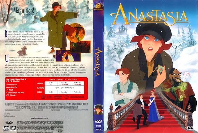 Capa DVD ANASTASIA