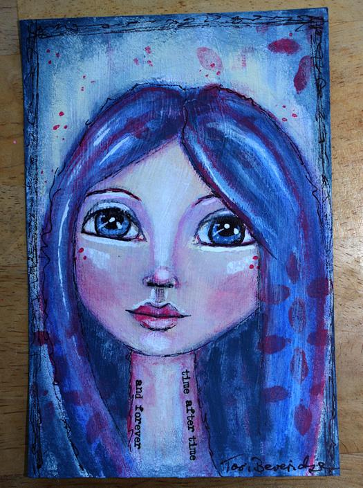 Face #9 by Tori Beveridge