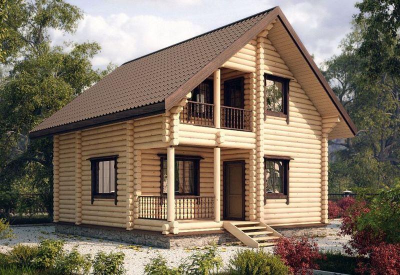 Купить дом из бревна под ключ