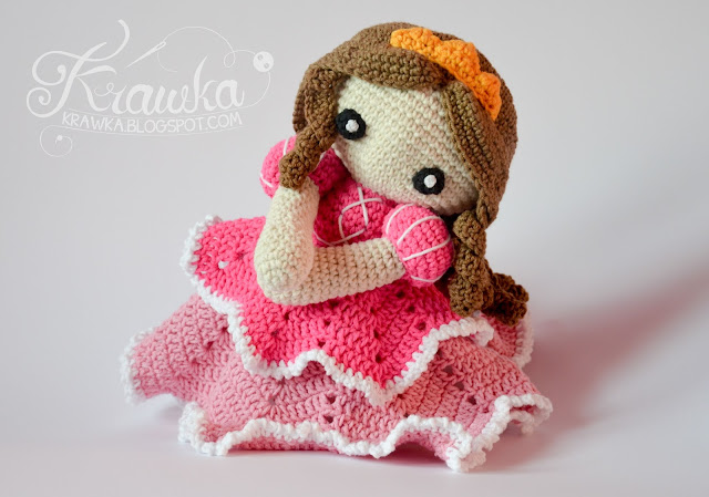 Krawka: Princess lovey crochet pattern by Krawka - princess Sofia the first inspired pattern