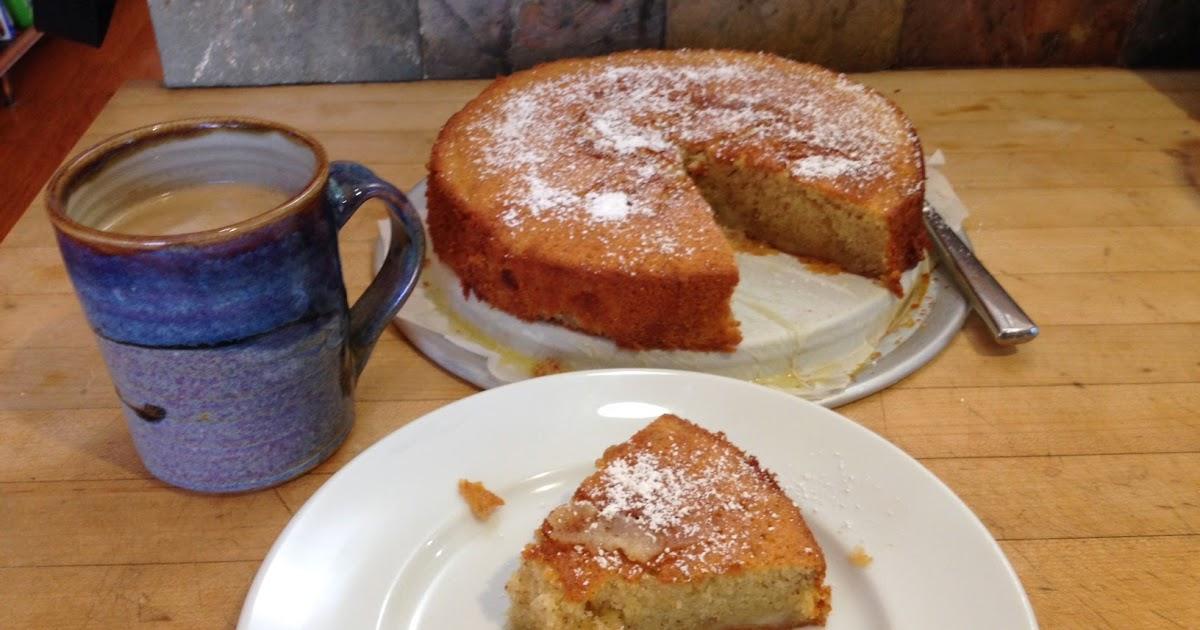 Hugh S Apple And Almond Cake