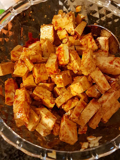 Tarte de Cogumelos com Tofu e Algas