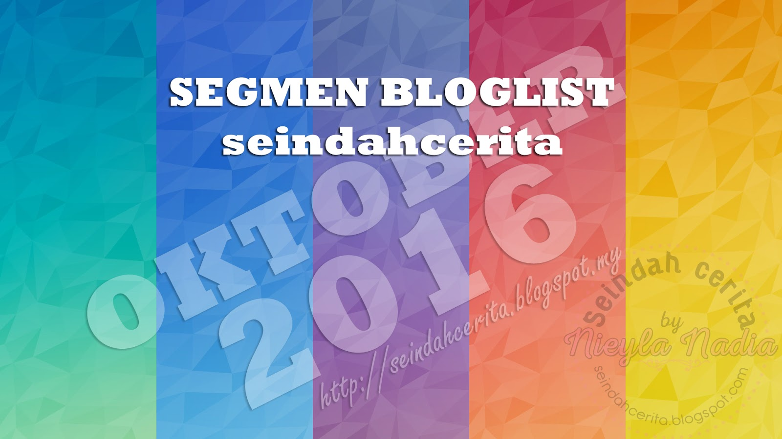 Segmen Bloglist Oktober Blog Seindahcerita
