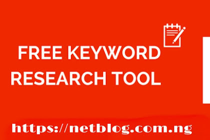 Free keyword research tool: my #1 recommended tool for doing keyword research from mobile device
