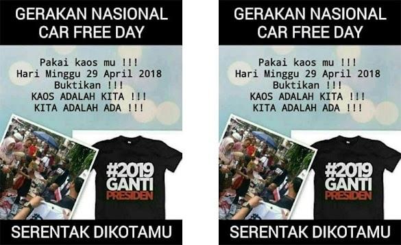 Viral, 29 April Jadi Gerakan Nasional #2019GantiPresiden
