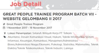 Lowongan Kerja BUMN Terbaru Telkom Indonesia