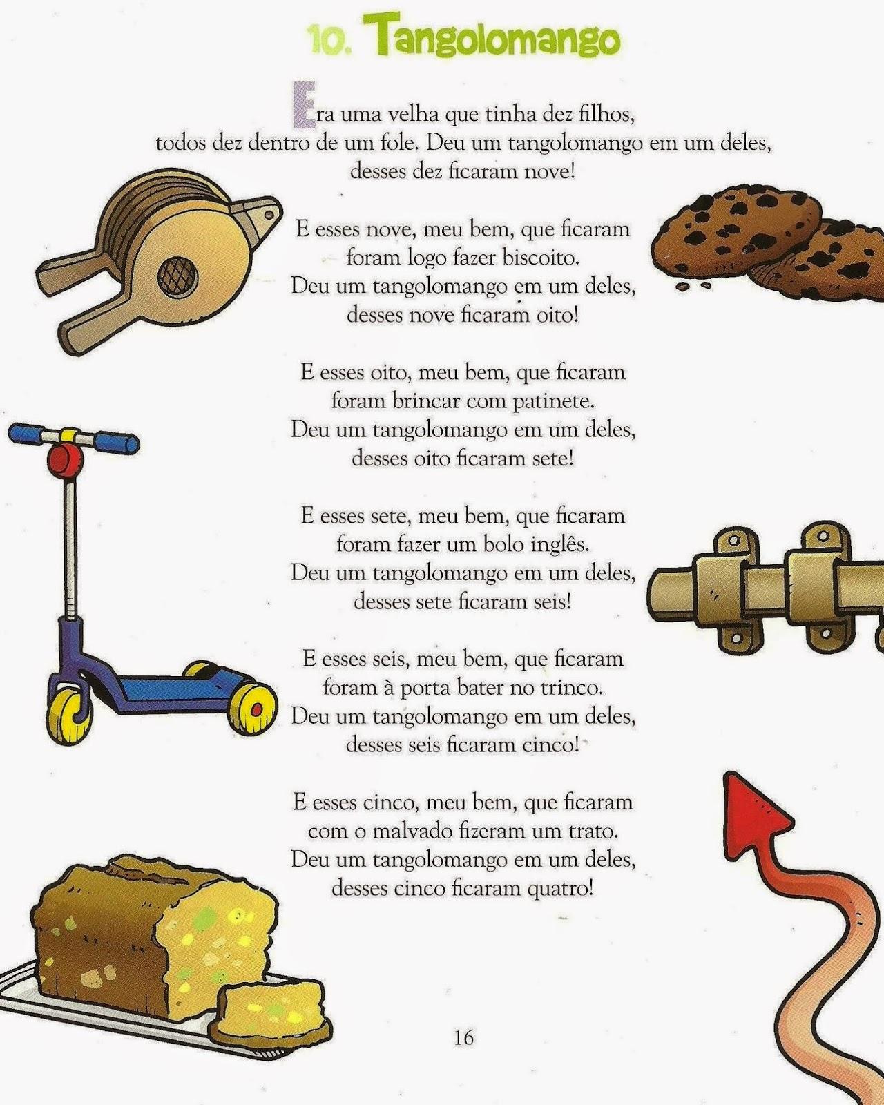 letra da música tangolomango