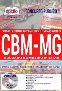 Apostila Concurso CBMMG 2018 Download pdf
