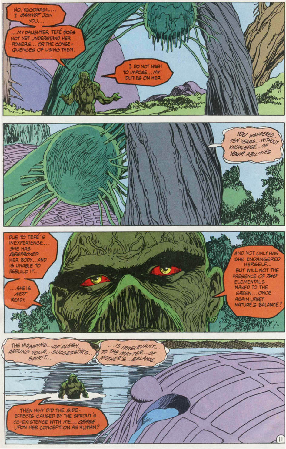 Swamp Thing (1982) Issue #100 #108 - English 12