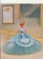Vestido de Baile em Crochê Para Barbie  Passo a Passo em Português