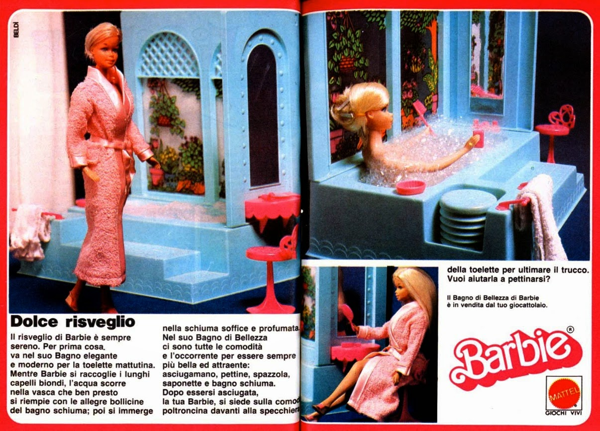 Barbie Bagno di Bellezza